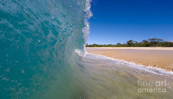 Wall Art - Photograph - Ocean Wave Barrel by Dustin K Ryan