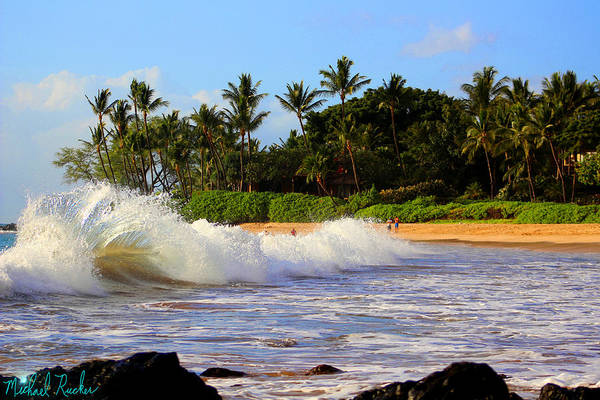 Ocean Wall Art - Photograph - Ocean Waves Of Maui by Michael Rucker