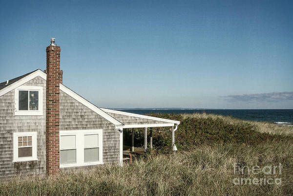 Oceanfront Photograph - Oceanfront Cottage by John Greim