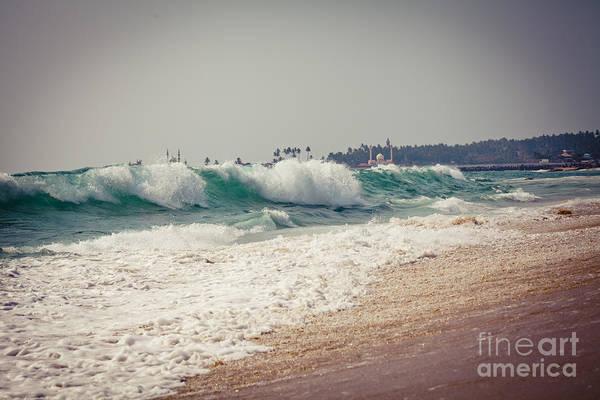 Photograph - Oceanic Wave by Raimond Klavins