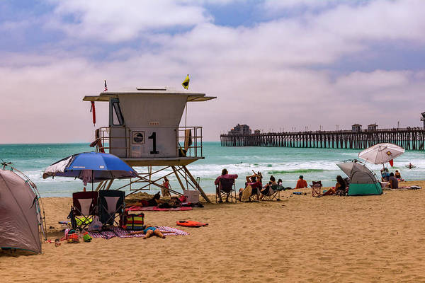 Photograph - Oceanside Lifeguard by Bryant Coffey