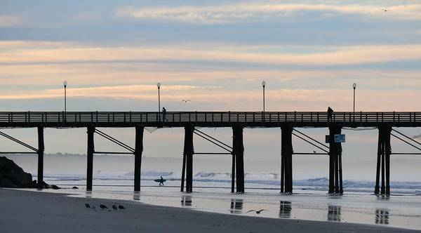 Photograph - Oceanside Pier - 2  by Christy Pooschke