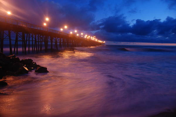 Wall Art - Photograph - Oceanside Pier Colors by Kelly Wade