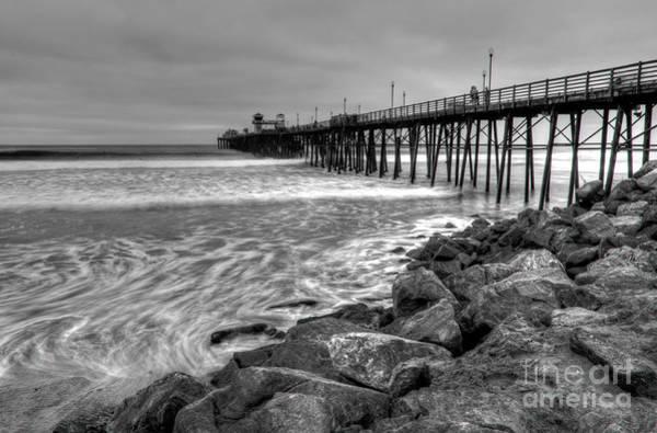 Photograph - Oceanside Pier by Eddie Yerkish
