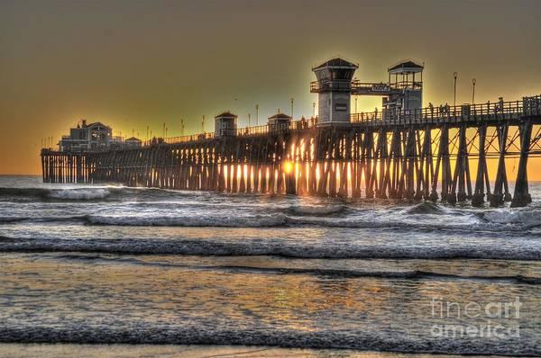 Photograph - Oceanside Pier Hdr  by Bridgette Gomes