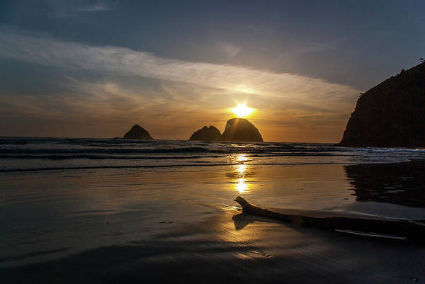 Photograph - Oceanside Sunset 2 by Ken Dietz