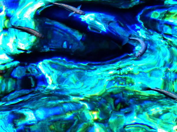 Photograph - Ocean Reflections  by Colette V Hera  Guggenheim
