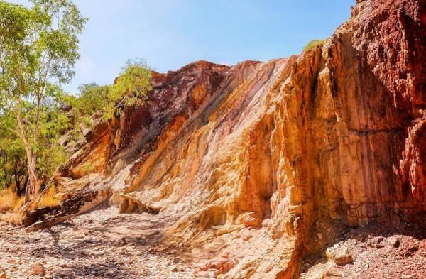 Photograph - Ochre Pits Landscape - West Mcdonald Ranges, Australia by Lexa Harpell