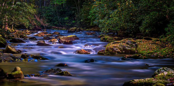 Photograph - Oconaluftee River Run by Andy Crawford