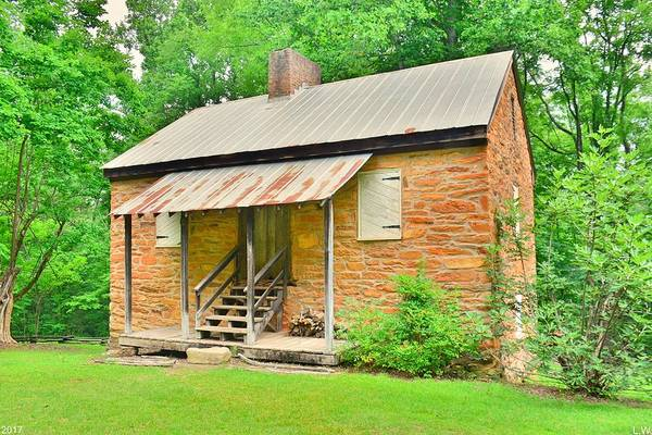 Photograph - Oconee Station Blockhouse by Lisa Wooten