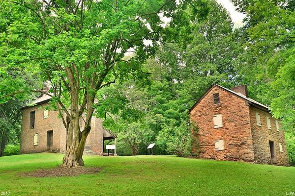 Photograph - Oconee Station Historical Site by Lisa Wooten