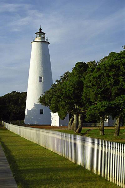 Ocracoke Lighthouse Photograph - Ocracoke Lighthouse by Don Mennig