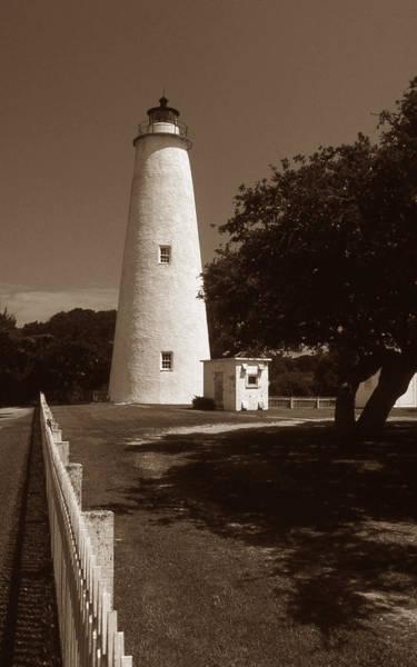 Ocracoke Lighthouse Photograph - Ocracoke Lighthouse by Skip Willits
