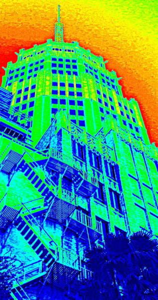 Photograph - Octagonal Building On The Riverwalk by Karen J Shine