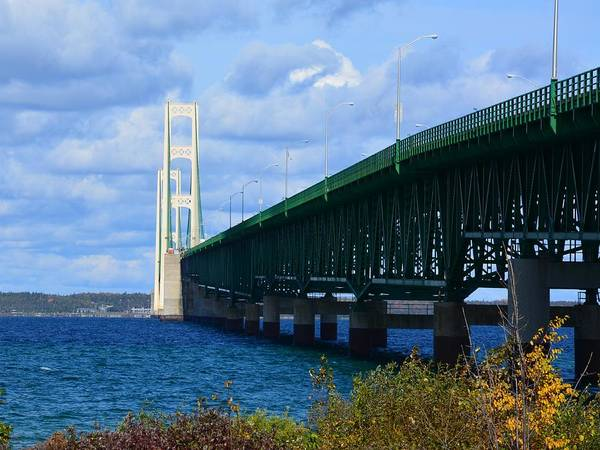 Photograph - October At The Straits Of Mackinac by Keith Stokes