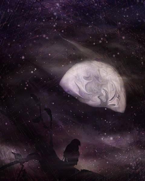 Ghoul Digital Art - October Eve by Rachel Christine Nowicki
