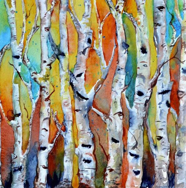 Painting - October Forest by Beverley Harper Tinsley