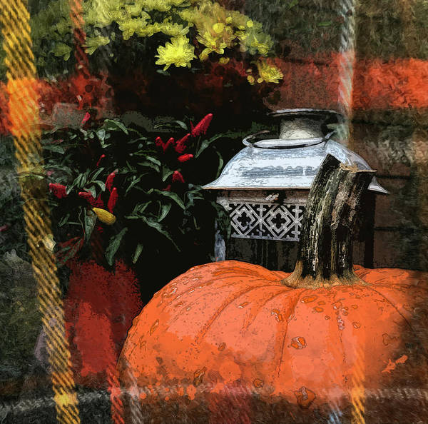 Digital Art - October by Gina Harrison