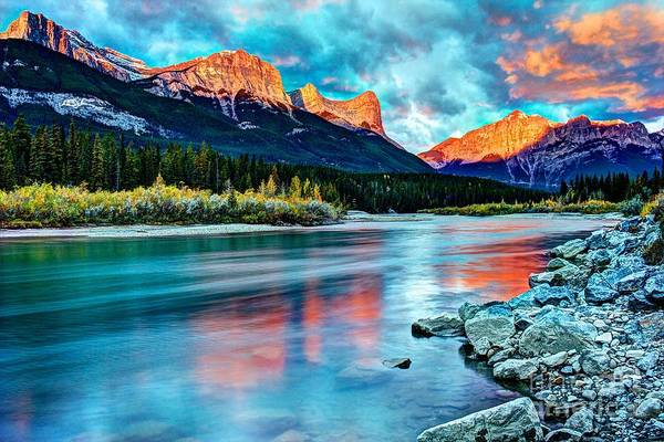 Canmore Photograph - October Glory by DJ MacIsaac