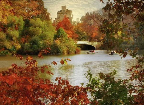 Photograph - October In Central Park by Jessica Jenney