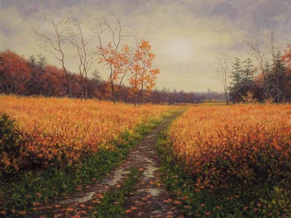Wall Art - Painting - October Light by Barry DeBaun