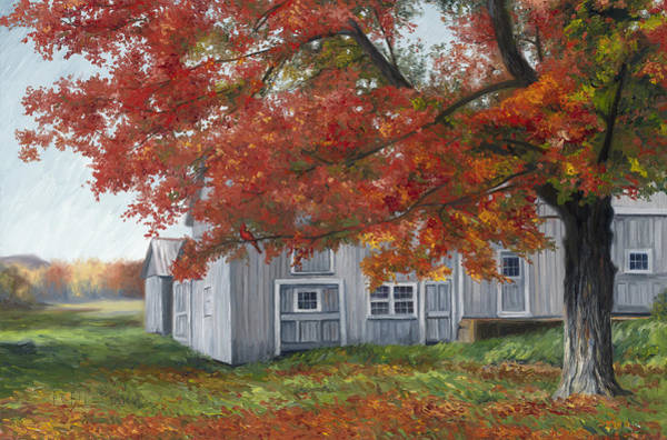 Painting - October by Lucie Bilodeau