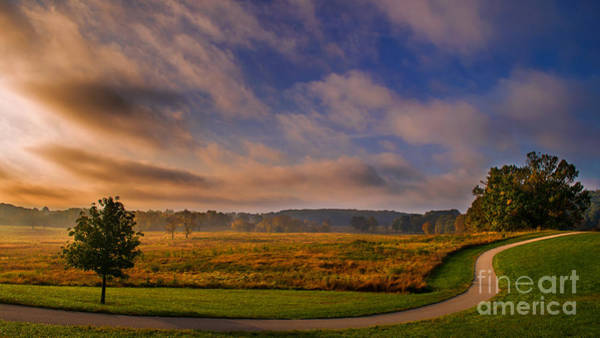 Photograph - October Morning At Valley Forge by Rima Biswas