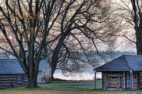 Photograph - October Morning Frost By The Lake by Tatiana Travelways