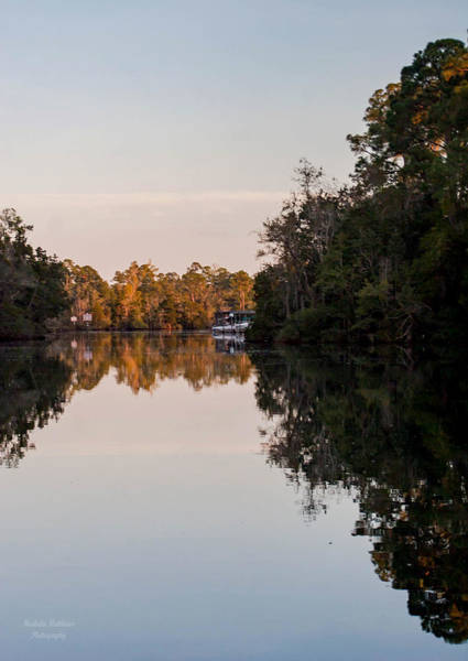 Photograph - October Reflections by Mechala Matthews