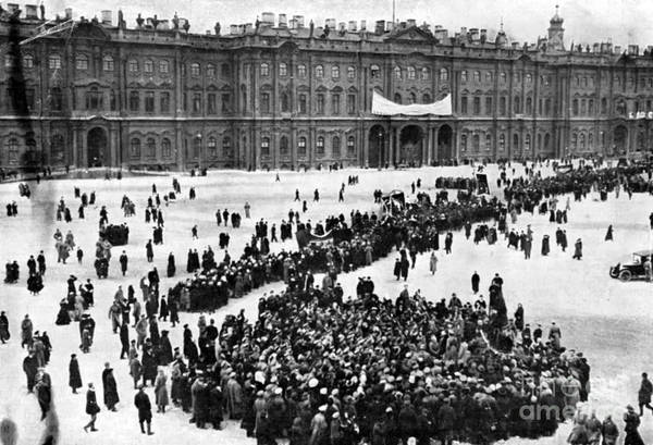 Imperial Russia Photograph - October Revolution, Storming Winter by Science Source