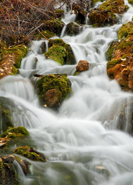 Photograph - October Waterfall by Scott Read