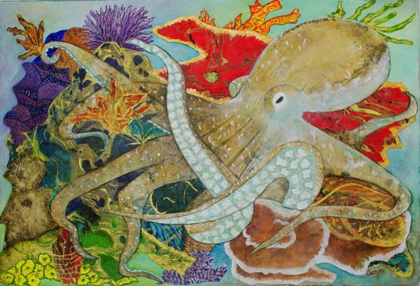 Genie Painting - Octopus Prime by Genie Ginzel