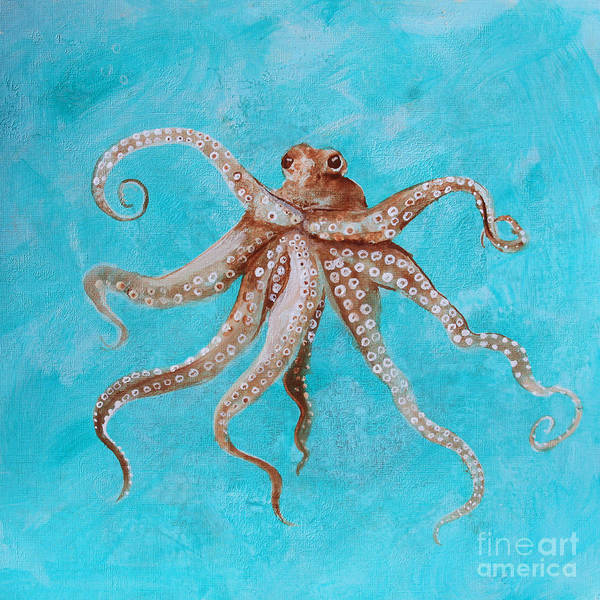 Painting - Octopus by Robin Maria Pedrero