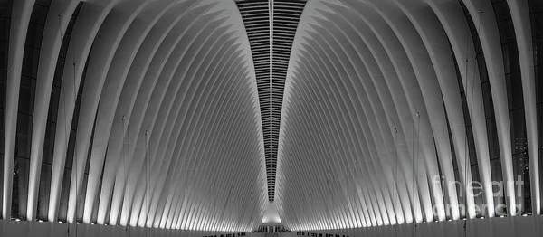 Oculus Wall Art - Photograph - Oculus World Trade Panorama  by Michael Ver Sprill