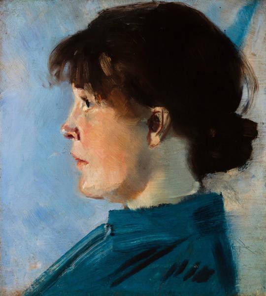Painting - Oda Krohg by Christian Krohg