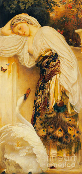 Wall Art - Painting - Odalisque by Frederic Leighton