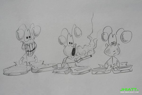 Drawing - Odds Are by Jhiatt