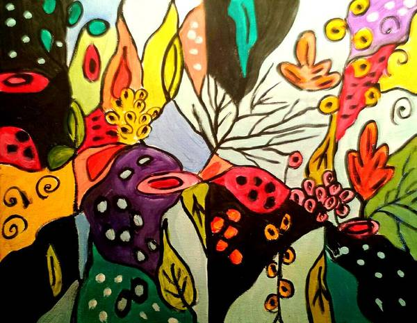 Painting - Ode To Nature by Nikki Dalton