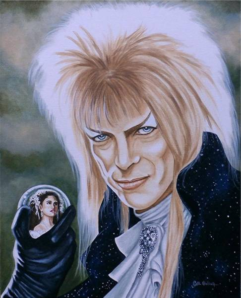 Wall Art - Painting - Ode To The Goblin King by Al  Molina