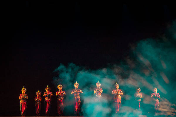Photograph - Odissi Princesses by Marji Lang