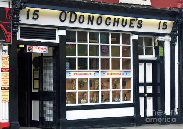 Wall Art - Photograph - O'donoghue's Pub Dublin by John Rizzuto