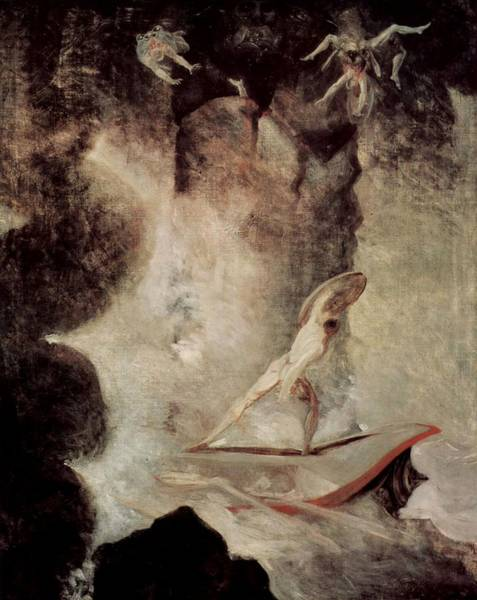 Painting - Odysseus In Front Of Scylla by Henry Fuseli
