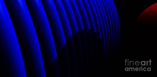 Light And Shadow Digital Art - Odyssey by Richard Rizzo