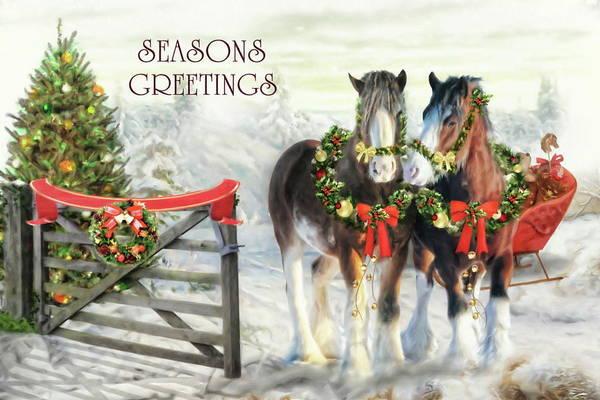 Wall Art - Digital Art -  Of Christmas Past  by Trudi Simmonds