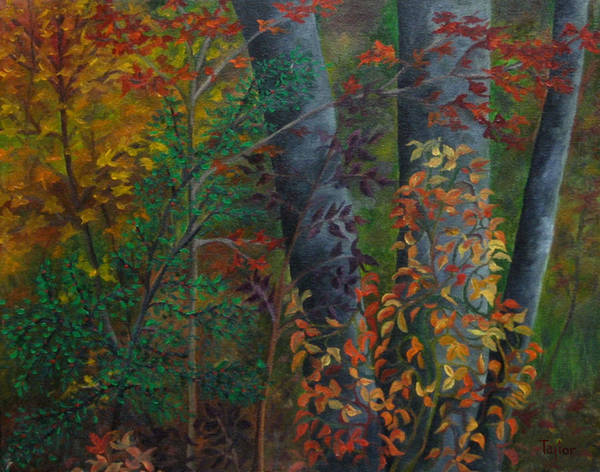 Painting - Of Fall Places by FT McKinstry