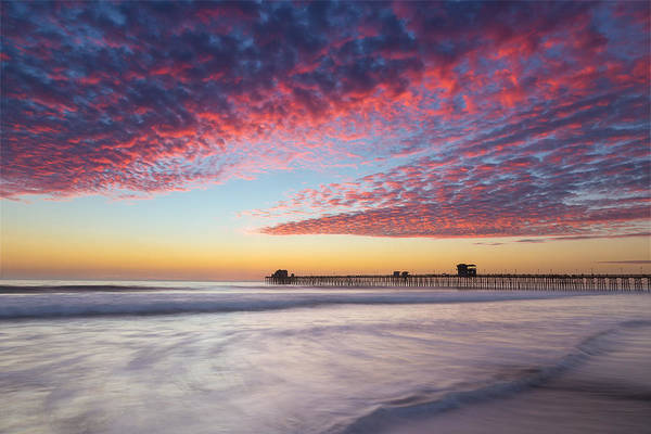 Oceanside Pier Photograph - Of Milk Shakes And Cotton Candy by Peter Tellone