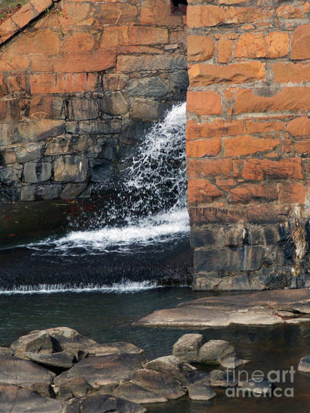 Millrace Wall Art - Photograph - Of Texture And Flow by Skip Willits