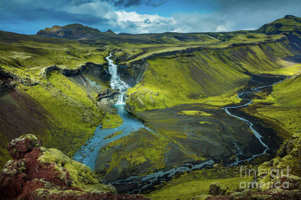 Wall Art - Photograph - Ofaerufoss by Inge Johnsson