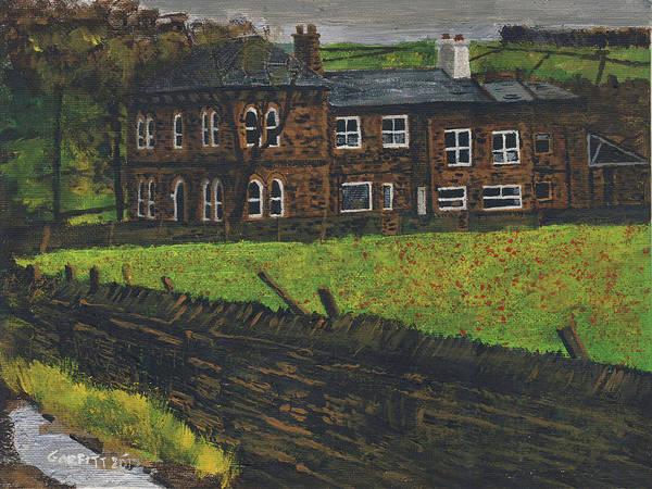 Off Hossock's Lane Art Print