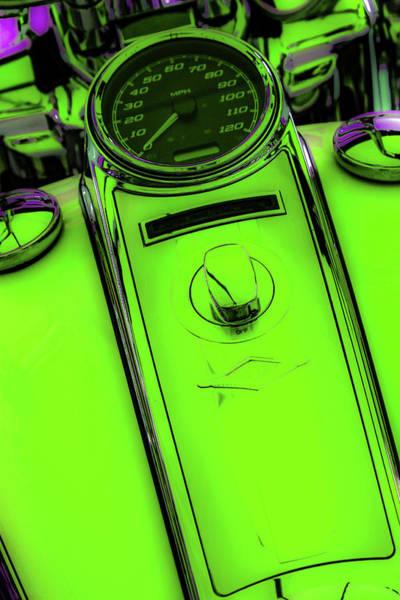 Photograph - Off Neon Green 4419 G_2 by Steven Ward